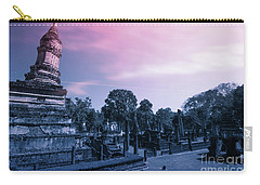 Artistic Of Chedi Carry-all Pouch by Atiketta Sangasaeng