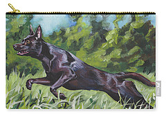 Australian Kelpie Carry-all Pouch by Lee Ann Shepard