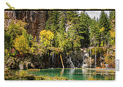 Autumn At Hanging Lake Waterfall - Glenwood Canyon Colorado Carry-all Pouch by Brian Harig