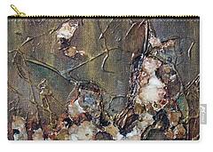 Carry-all Pouch featuring the painting Autumn Leaves by Joanne Smoley
