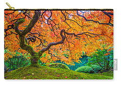 Carry-all Pouch featuring the photograph Autumn's Jewel by Patricia Davidson