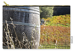 Barrel In The Vineyard Carry-all Pouch