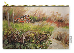 Beach Bikes Carry-all Pouch by Mary Hubley