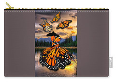 Carry-all Pouch featuring the mixed media Believe by Marvin Blaine