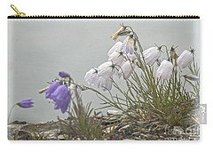 Carry-all Pouch featuring the photograph Bellflower by Heiko Koehrer-Wagner
