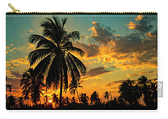 Blazing Sunset Carry-all Pouch