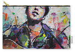 Bob Dylan Carry-all Pouch by Richard Day