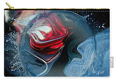 Carry-all Pouch featuring the photograph Upheaval by Kathie Chicoine