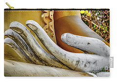 Carry-all Pouch featuring the photograph Buddha's Hand by Adrian Evans
