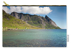 Bunesfjord And Mountains Carry-all Pouch
