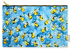 Bee Colony Carry-All Pouches