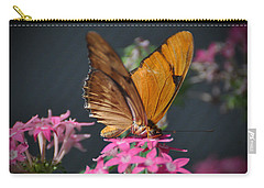 Carry-all Pouch featuring the photograph Butterfly by Savannah Gibbs