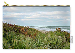 By The Sea Carry-all Pouch by Carol Bradley
