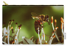 Carry-all Pouch featuring the photograph Bzzz by Michael Siebert