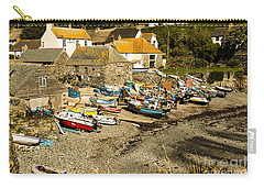 Carry-all Pouch featuring the photograph Cadgwith Cove by Brian Roscorla