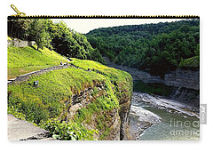 Carry-all Pouch featuring the photograph Canyon  by Raymond Earley