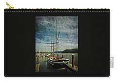 Carry-all Pouch featuring the photograph Cape Foulweather Tall Ship by Thom Zehrfeld
