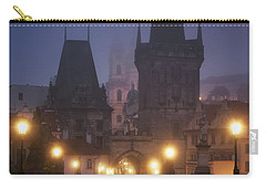 Charles Bridge, Prague, Czech Republic Carry-all Pouch