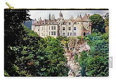 Carry-all Pouch featuring the photograph Chateau De Walzin - Belgium by Joseph Hendrix