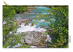 Carry-all Pouch featuring the photograph Cheakamus River by Sharon Talson