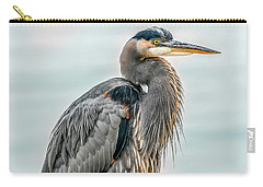 Chesapeake Bay Great Blue Heron Carry-all Pouch