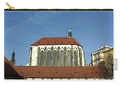 Carry-all Pouch featuring the photograph Church Of The Virgin Mary Of The Snow by Michal Boubin