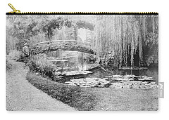 Claude Monet Photographs Carry-All Pouches