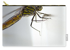 Close Up Shoot Of A Anisoptera Dragonfly Carry-all Pouch