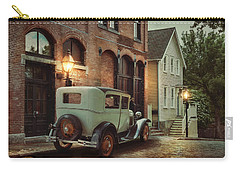 Carry-all Pouch featuring the photograph Cobblestone Streets by Robin-Lee Vieira