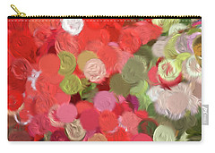 Colorful Circles  Carry-all Pouch by Bonnie Bruno