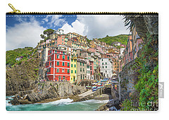 Colors Of Cinque Terre Carry-all Pouch