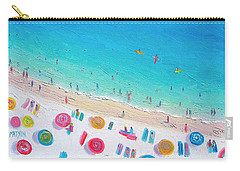 Colors Of The Beach Carry-all Pouch