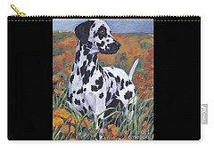 Dalmatian Carry-all Pouch by Lee Ann Shepard
