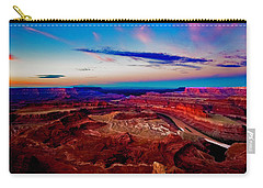 Carry-all Pouch featuring the photograph Dead Horse Point by Norman Hall