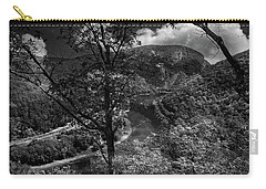 Carry-all Pouch featuring the photograph Delaware Water Gap by Raymond Salani III