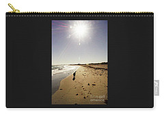 Carry-all Pouch featuring the photograph Dog Beach by Cassandra Buckley