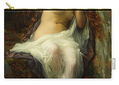 Carry-all Pouch featuring the painting Echo by Alexandre Cabanel