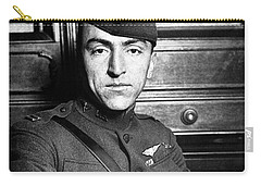 Carry-all Pouch featuring the photograph Eddie Rickenbacker by War Is Hell Store