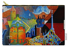 El Barcelona De Gaudi Carry-all Pouch by Joe Gilronan