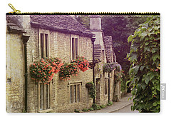 English Village Carry-all Pouch by Jill Battaglia