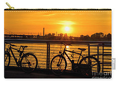Evening Colors Carry-all Pouch