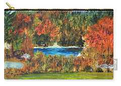 Fall In The Adirondacks Carry-all Pouch