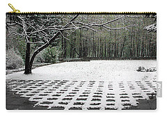 First Snow Fall Carry-all Pouch by Vladimir Kholostykh