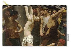 Flagellation Of Christ Carry-all Pouch