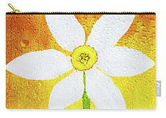 Carry-all Pouch featuring the photograph Flower Paradise by Bess Hamiti