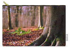 Carry-all Pouch featuring the photograph Forest Floor by Will Gudgeon