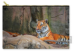 Fort Worth Zoo Tiger Carry-all Pouch