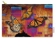Carry-all Pouch featuring the mixed media Freedom To Be by Marvin Blaine