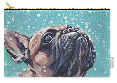 French Bulldog Carry-all Pouch by Lee Ann Shepard