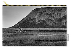 Carry-all Pouch featuring the photograph Fresh Kills by Steven Richman